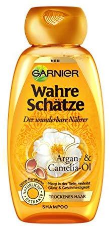 Garnier Wahre Sch&auml,tze Shampoo Glanz & Geschmeidigkeit, 1er Pack (1 x 250 ml)