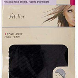 Solida Frisurschleier Atelier, schwarz, 1 Pack ( 1 St&uuml,ck)