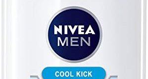 Nivea Men Cool Kick After Shave Balsam im 1er Pack (1 x 100 ml), Aftershave pflegt die Haut nach der Rasur, erfrischende und ber
