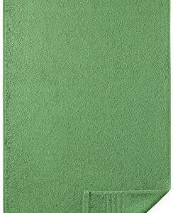 Egeria 28001 Madison Waschhandschuh, Baumwolle, grassgreen, Gr&ouml,&szlig,e 16 x 21 cm