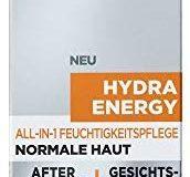L'Or&eacute,al Men Expert Hydra Energy All-In-One Feuchtigkeitspflege, 1er Pack (1 x 75 ml)