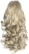 Love Hair Extensions Kunsthaar-Pferdeschwanz Curly mit Kordelzug 30,5&nbsp,cm, 18-22 Ash Blonde-Beach Blonde