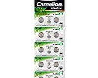 Batterie Knopfzelle 10 St&uuml,ck LR44 Camelion Plus