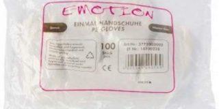 Efalock Professional Einmal-Handschuhe Herren, 1er Pack, (1x 100 St&uuml,ck)