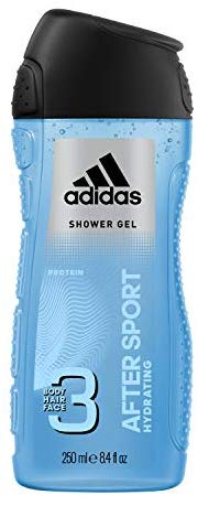 adidas After Sport 3in1 Duschgel f&uuml,r Herren, 250 ml