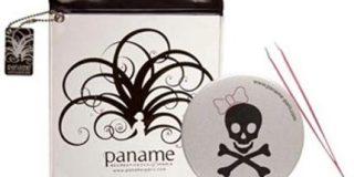 Paname-Paris Depilation Kit silberner Spiegel Death 's Head Plus Pink Pinzette