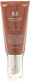 MISSHA M Perfect Cover BB Cream SPF42-PA (No.21-Light Beige) 50ml, 1er Pack