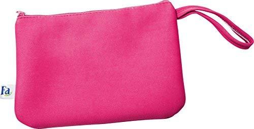 Fa Sommer Bikini Strandtasche mit Rei&szlig,verschluss in pink, 1er Pack (1 x 1 St&uuml,ck)