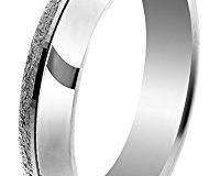 Orphelia Unisex -Einfache Hochzeits-Band 925-Sterling Silber Ringgr&ouml,&szlig,e 52 (16.6) OR9996-52