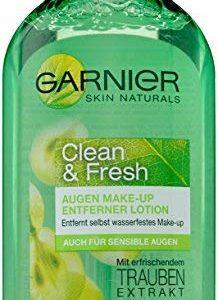Garnier Fresh und Clean Augen Make-up Entferner Lotion, reinigt schonend, entfernt auch wasserfestes Make-up, f&uuml,r empfindli