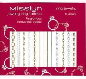 Misslyn Jewelry Ring Tattoo