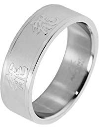 Akzent Unisex-Ring Edelstahl Gr.62 (19.7) 001150062005