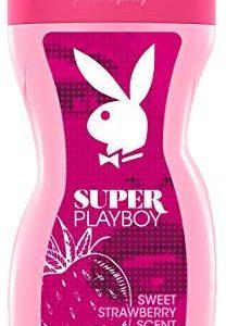 Playboy Super women Shower Gel 250 ml, 1er Pack (1 x 250 ml)