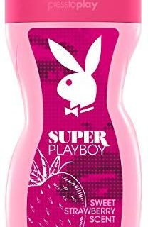 Playboy Super women Shower Gel 250 ml, 1er Pack (1 x 250 ml)