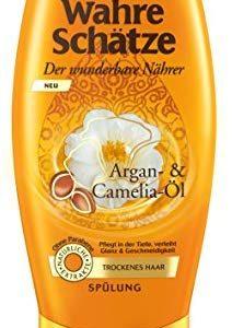 Garnier Wahre Sch&auml,tze Sp&uuml,lung, mit Argan&ouml,l & Camelia&ouml,l-f&uuml,r trockenes Haar-ohne Parabene, 1er Pack (1 x