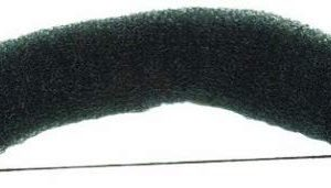 Efalock Professional Knotenrolle, 23 cm, dunkel