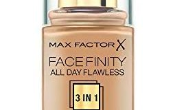 Max Factor Face Finity 3 in 1 Foundation, 77 soft honey, 1er Pack (1 x 30 g)