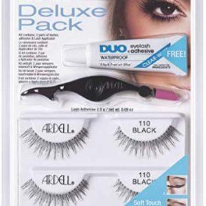 Ardell Deluxe Pack Lash 110, das Original, black, 1er Pack (1 x 2 Paar)