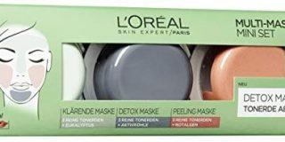 L'Or&eacute,al Paris Tonerde Absolue Multi Masking Set, 3er Pack (3 x 10 ml)