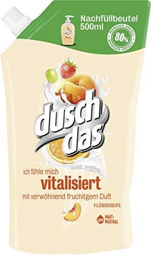 Duschdas Fl&uuml,ssigseife Fruit & Creamy Nachf&uuml,llbeutel, 1 x 500 ml