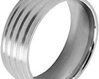 Akzent Damen-Ring Edelstahl Gr.52 (16.6) 001015052003