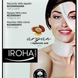 Iroha Gesicht und Halsmaske Argan, 1er Pack (1 x 1 St&uuml,ck)