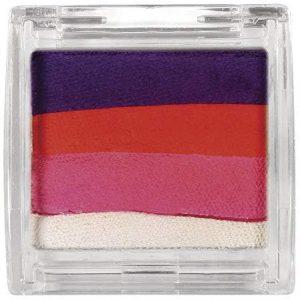 RAYHER 38791000 Paint me Schminkfarbe, Dose, SB-Blister 10 g, violett, rot, rosa, wei&szlig,