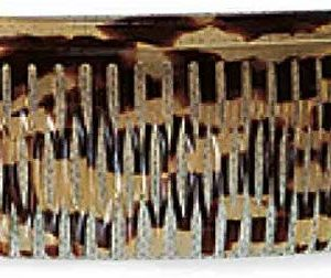 Efalock Professional Celluliod Spaltzahnk&auml,mme Havanna, 1er Pack, (1x 1 St&uuml,ck)