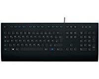 Logitech K280e Tastatur schwarz