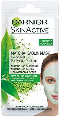 Garnier Matcha + Kaolin Maske, 8 ml (1er Pack)