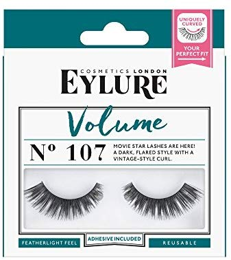 Eylure Volume No. 107 Lashes, 1er Pack (1 x 2 St&uuml,ck)
