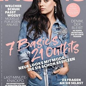 Aktuelles InStyle Magazin (September 2018) mit  Create-Your-Stlye Booklet