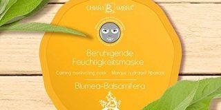 Chiara Ambra beruhigende Feuchtigkeits-Vliesmaske Blumea Balsamifera f&uuml,r die kurze, intensive Anwendung