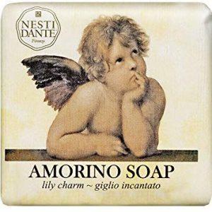 Nesti Dante Amorino Lily Charm Seife, 150 g