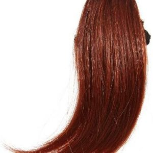 Love Hair Extensions Thermofiber Clip-In-Seitenpony Farbe 35 - Deep Kupfer, 1er Pack (1 x 1 St&uuml,ck)