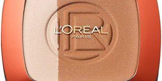 L'Or&eacute,al Paris Make Up Glam Bronze Duo Sun Powder, 101 Blonde Harmony - 2 in 1 Bronzepuder f&uuml,r den Sommer-gebr&auml,u