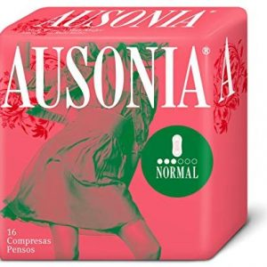 Ausonia 8410108116633 Normal Damenbinde, 1er Pack (1 x 0.2 kg)