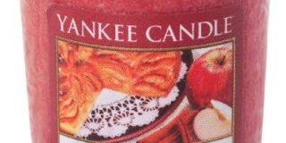 YANKEE CANDLE Sampler-Tarte Tatin 49g, Wachs, Rot, 4.5x4.5x5.3 cm