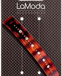 lamoda Schildpatt Haarspange mit mit Rundum, 9&nbsp,cm