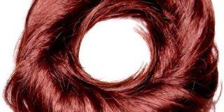 Love Hair Extensions Kunsthaar-Haargummi Tornado, Warm Copper