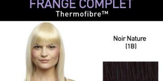 Love Hair Extensions Thermofiber Clip-In-Vollpony Farbe 1B - Naturschwarz, 1er Pack (1 x 1 St&uuml,ck)