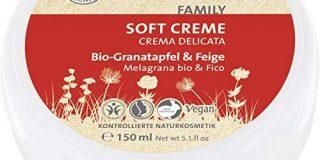 SANTE Naturkosmetik Soft Cream Bio-Granatapfel & Feige, Gesichtscreme, Sanfte Textur, T&auml,glich f&uuml,r die ganze Familie, V