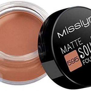 Misslyn Souffl&eacute, Foundation Nr.595 matte dark chocolate, 15 ml