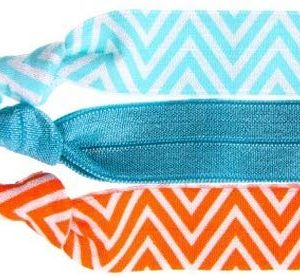Twistband Haarb&auml,nder Bright Chevron, 1er Pack (1 x 3 St&uuml,ck)