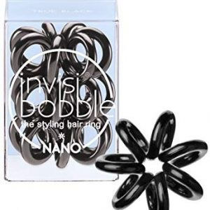Invisibobble nano true black, 1er Pack, (1x 3 St&uuml,ck)