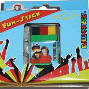 Eulenspiegel 626900 - Fun-Stick Jumbo (Schwarz-Rot-Gelb)