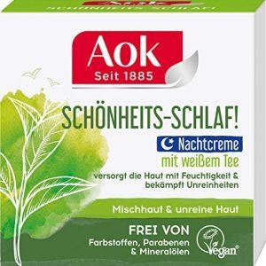 Aok Pur Balance Kl&auml,rende Nachtpflege, 1er Pack (1 x 50 ml)