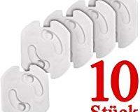 Colico- 10x Kindersicherung f&uuml,r Steckdose mit Drehmechanik - Steckdosenschutz Steckdosensicherung Baby Kleinkinder