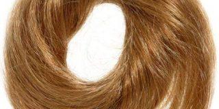 Love Hair Extensions Volcano Haargummi Farbe 27 - Goldblond, 1er Pack (1 x 1 St&uuml,ck)