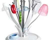 NUK MultiDry Trockenst&auml,nder - praktisches Trocknen von bis zu 6 Babyflaschen und Zubeh&ouml,r, BPA-frei